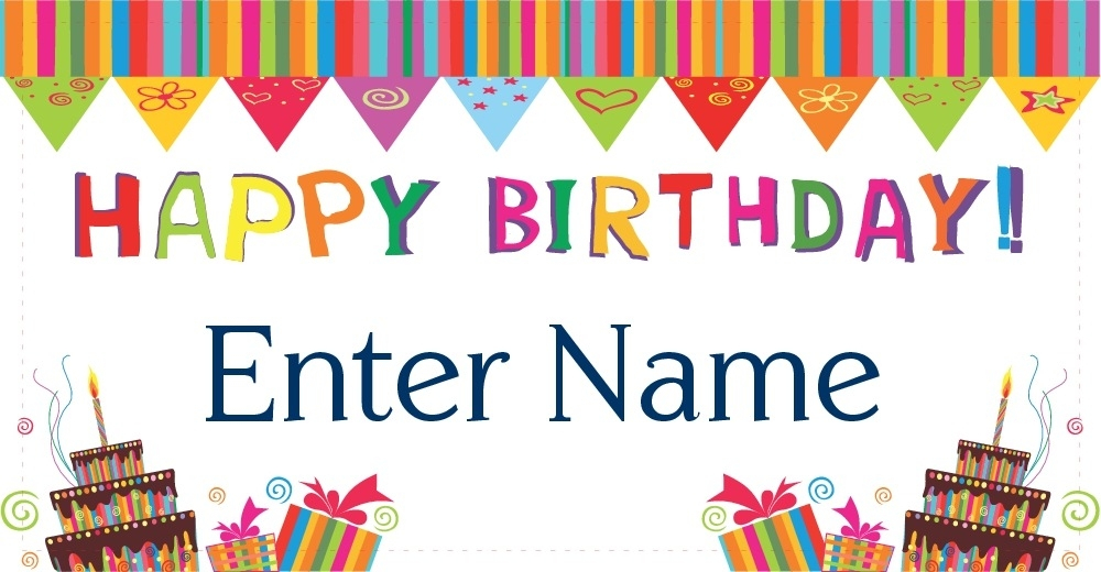 100 Hapy Birthday Banner Party City Printable Gold And