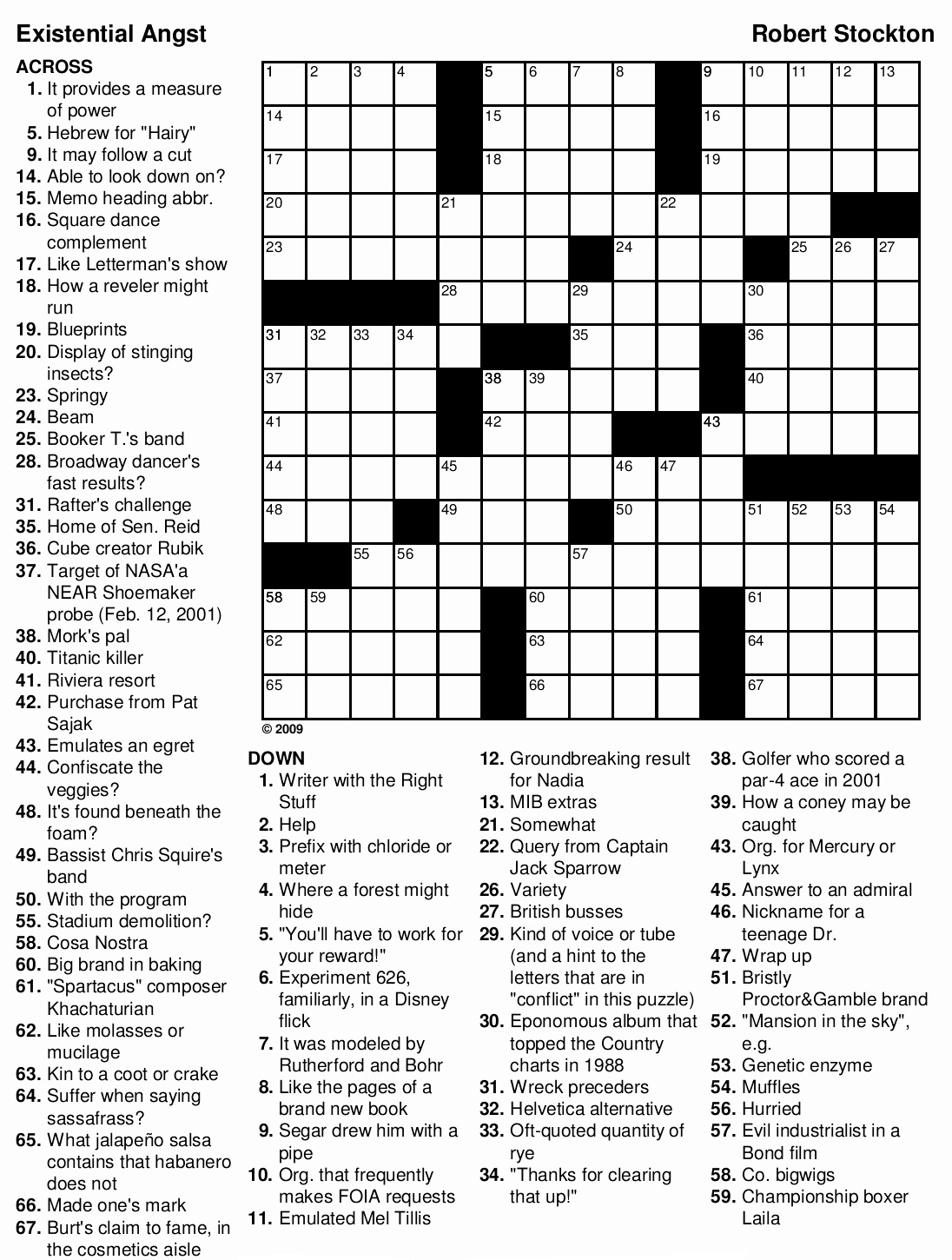 Crossword Puzzles For Adults Best Coloring Pages For Kids