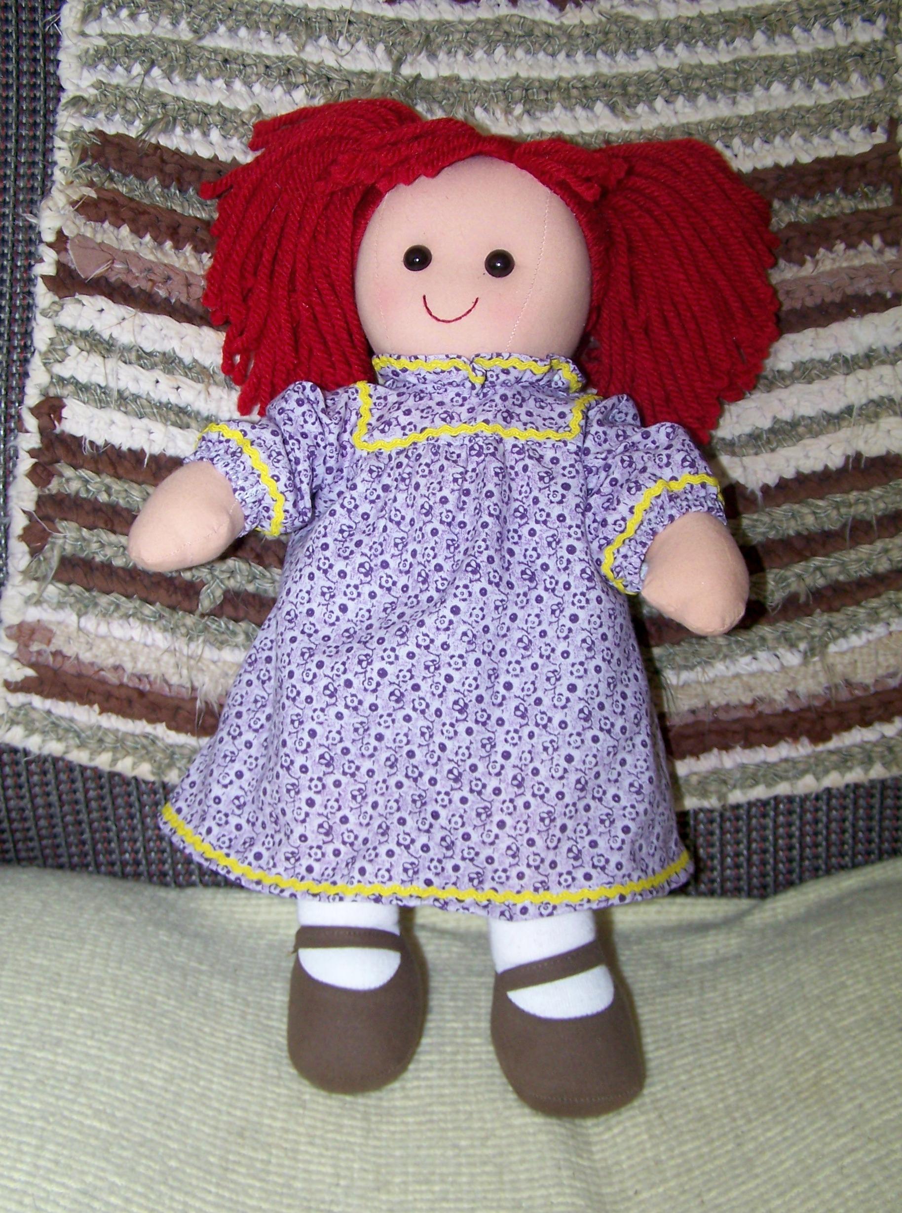 Dressing A Darice Rag Doll Free Patterns Frugal Abundance