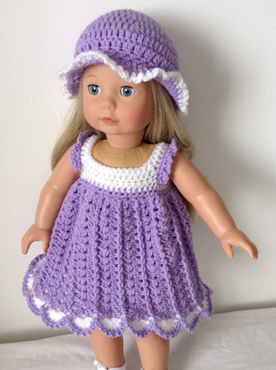 Free Printable Crochet Doll Clothes Patterns For 18 Inch