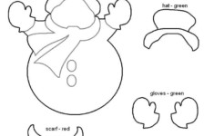 Free Printable Felt Christmas Ornament Patterns With