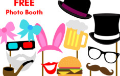 Free Printable Party Photobooth Props Birthday Party