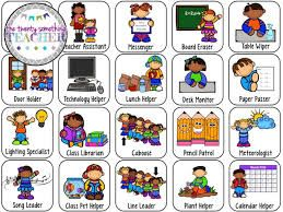 Image Result For Free Printable Preschool Job Chart