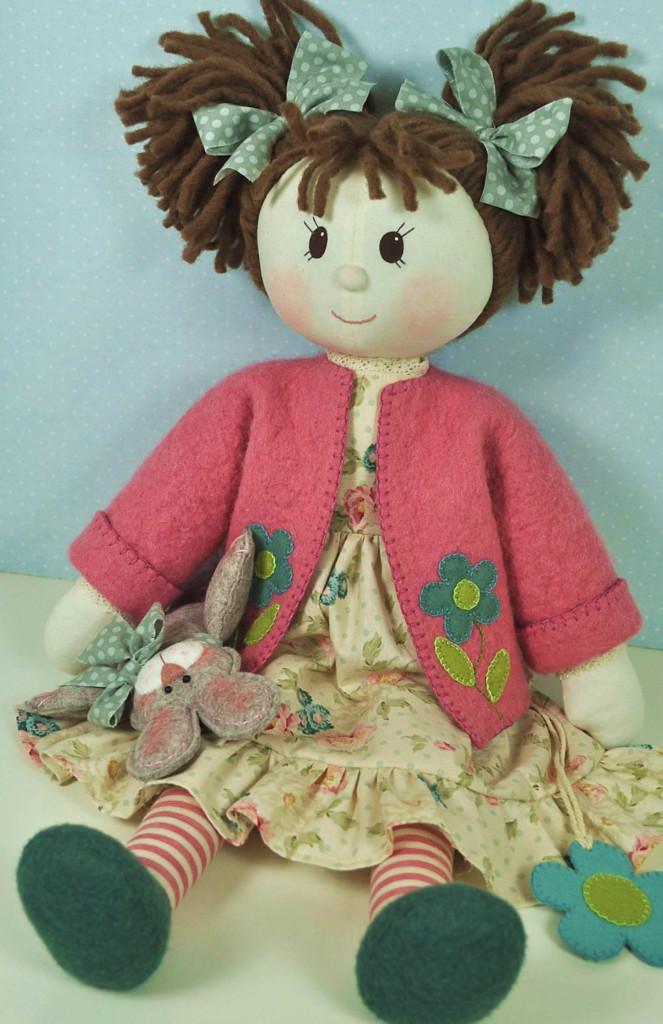 Millie Rose Rag Doll Pattern