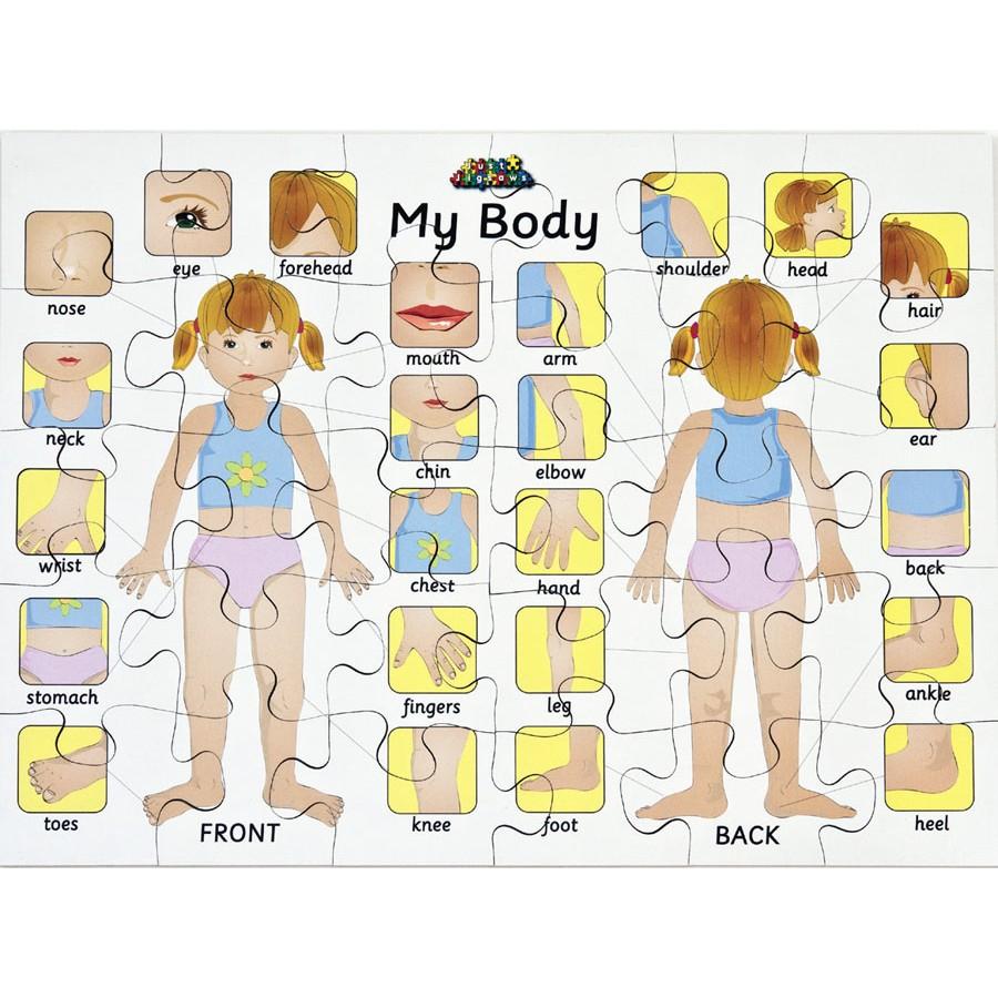 My Body Puzzle Creative Activity