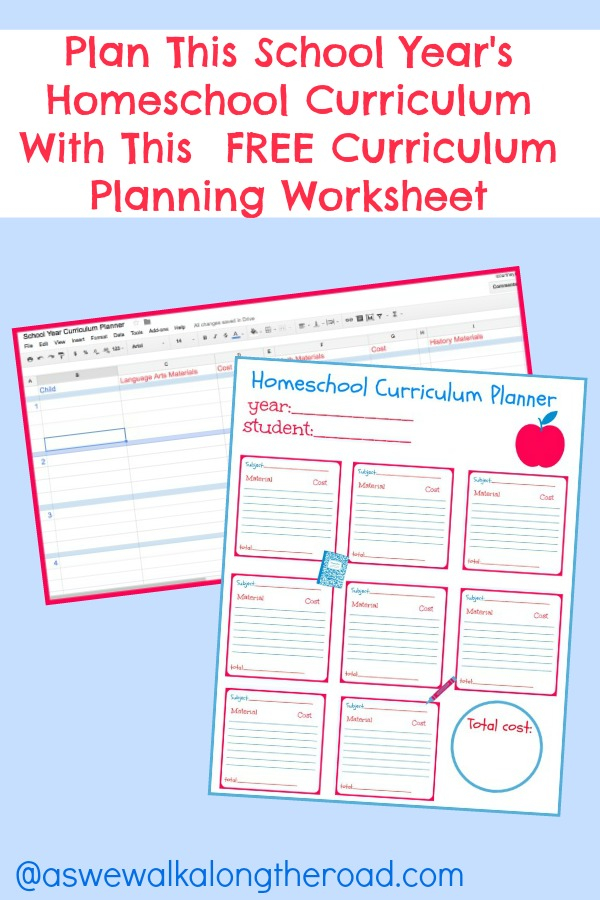 Plan This School Year s Homeschool Curriculum With This