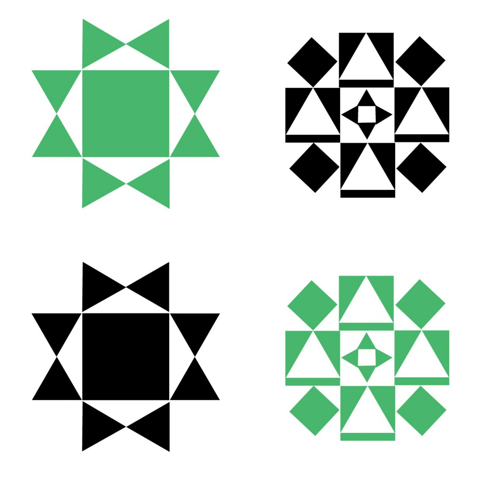 Printable Barn Quilt Wall Banners Delightfully Noted