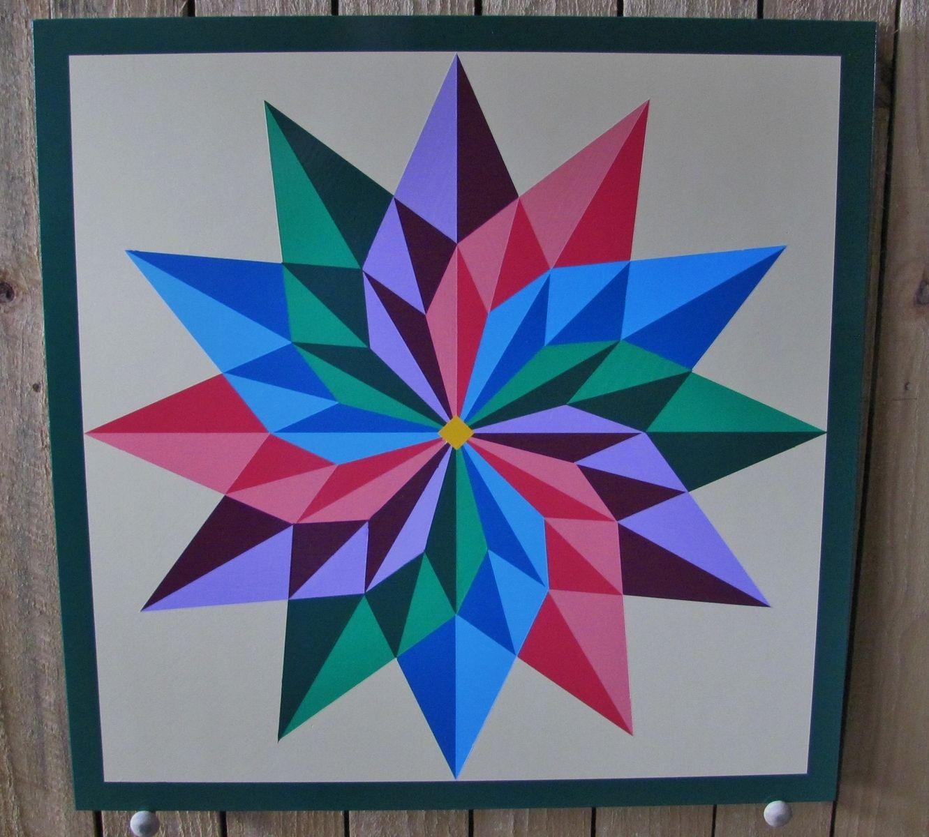 Sunflower Barn Quilt Patterns Printable