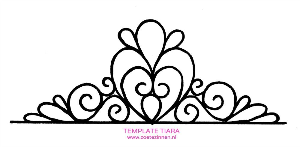 Tiara Outline Free Download On ClipArtMag