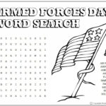 Armed Forces Day Word Search