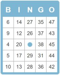 Bingo Cards 50 To Print