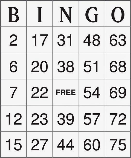 Factoid Bingo II Quiz By CadillacElDorito