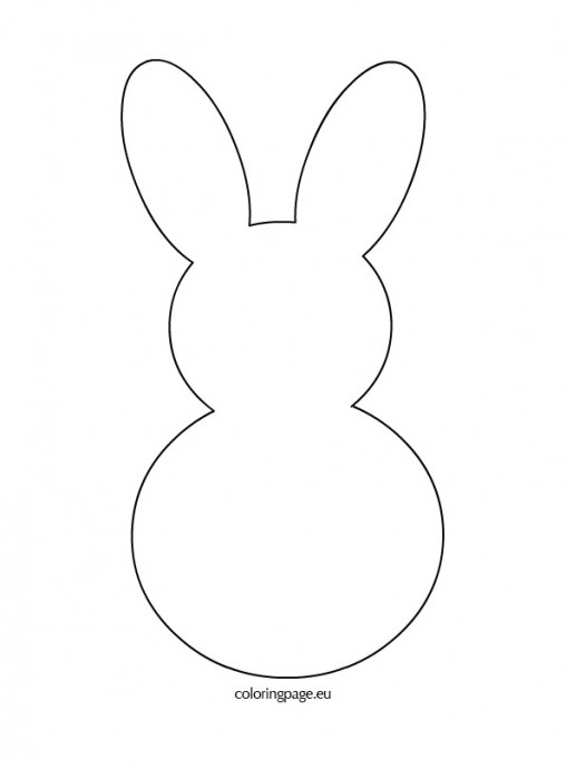 Free Rabbit Template Download Free Clip Art Free Clip