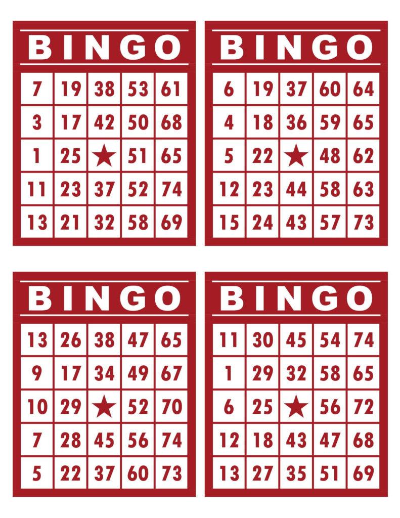 Pin On Printable Bingo Cards
