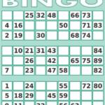 Printable Bingo Cards 1 75 Printable Cards