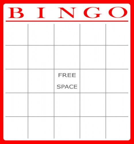 Printable templates Printable Bingo Cards Bingo Cards