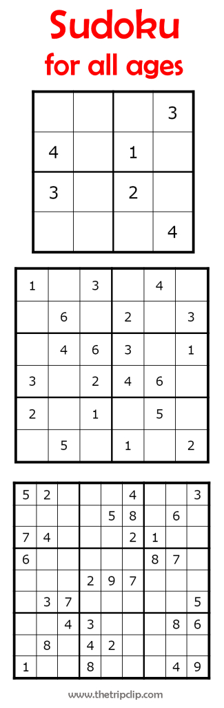 Printable Sudoku 4X4 Printable Sudoku Free