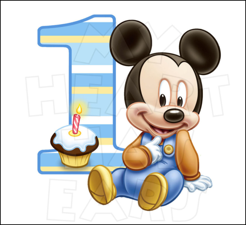 Best Mickey Mouse Birthday Clipart 18455 Clipartion