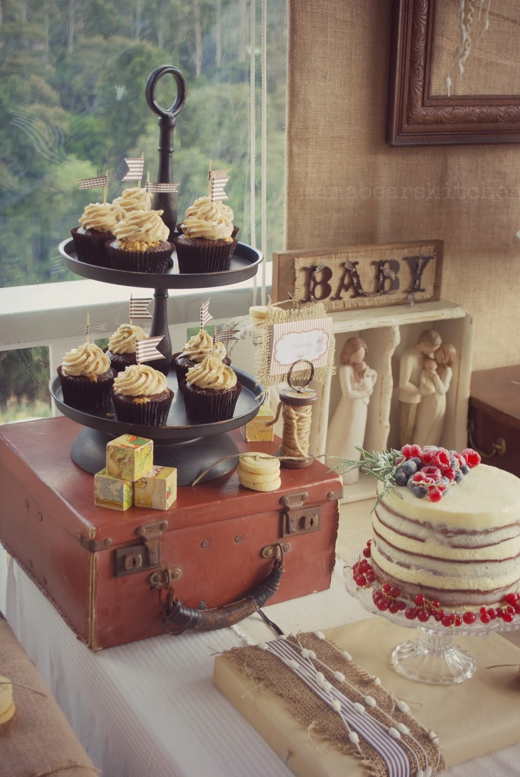 Burlap And Lace Baby Shower Baby Shower Ideas 4U