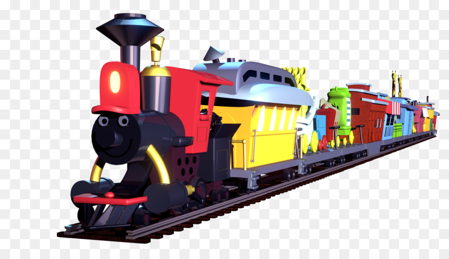 Casey Jr Circus Train Rail Transport Locomotive Track