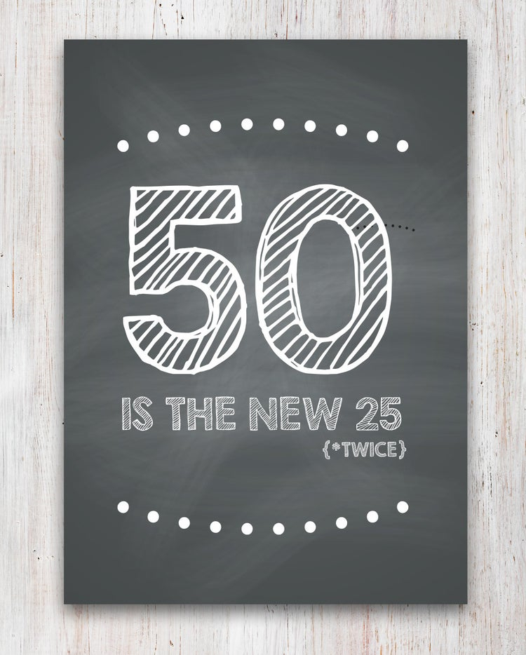 Funny 50th Birthday Card Printable By CleverPrintables On Etsy