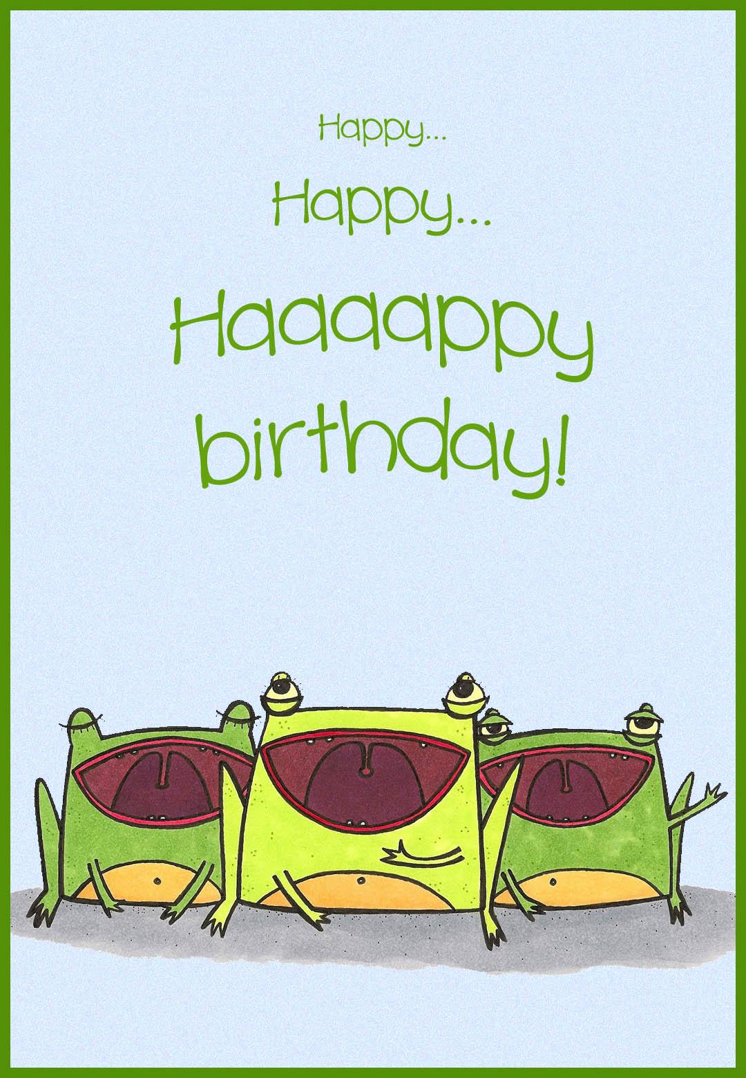 Happy Birthday Choir Free Birthday Card Greetings Island