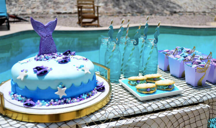 HOW TO THROW A MAGICAL MERMAID BIRTHDAY PARTY