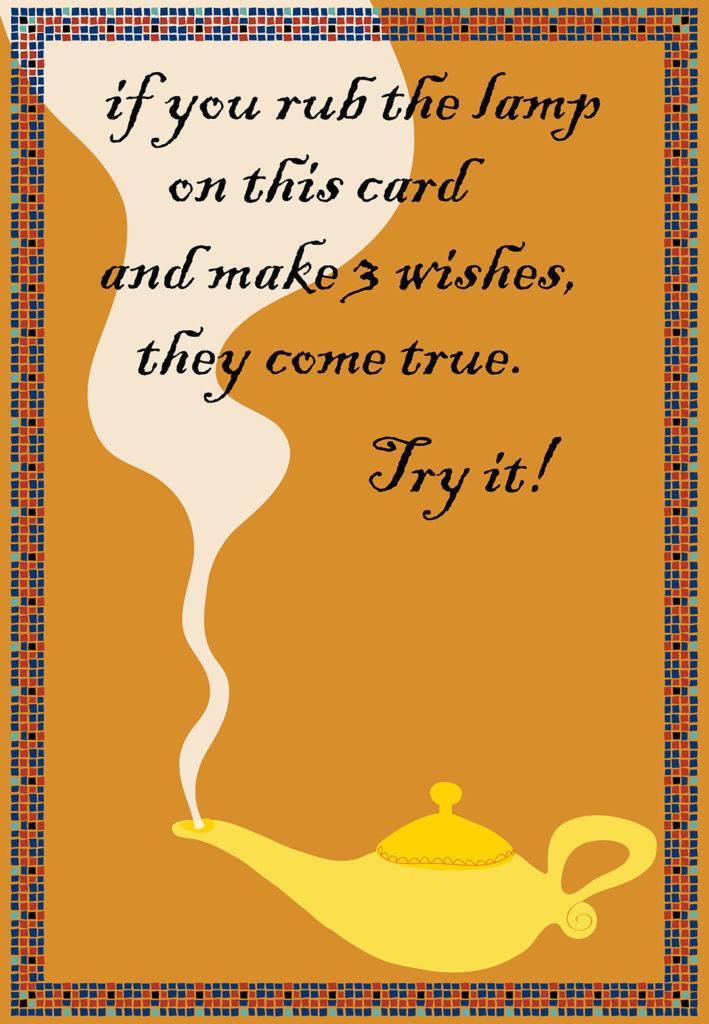 Rub The Lamp Free Birthday Card Greetings Island