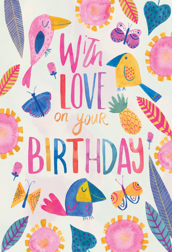Tropical Take Birthday Card Free Greetings Island