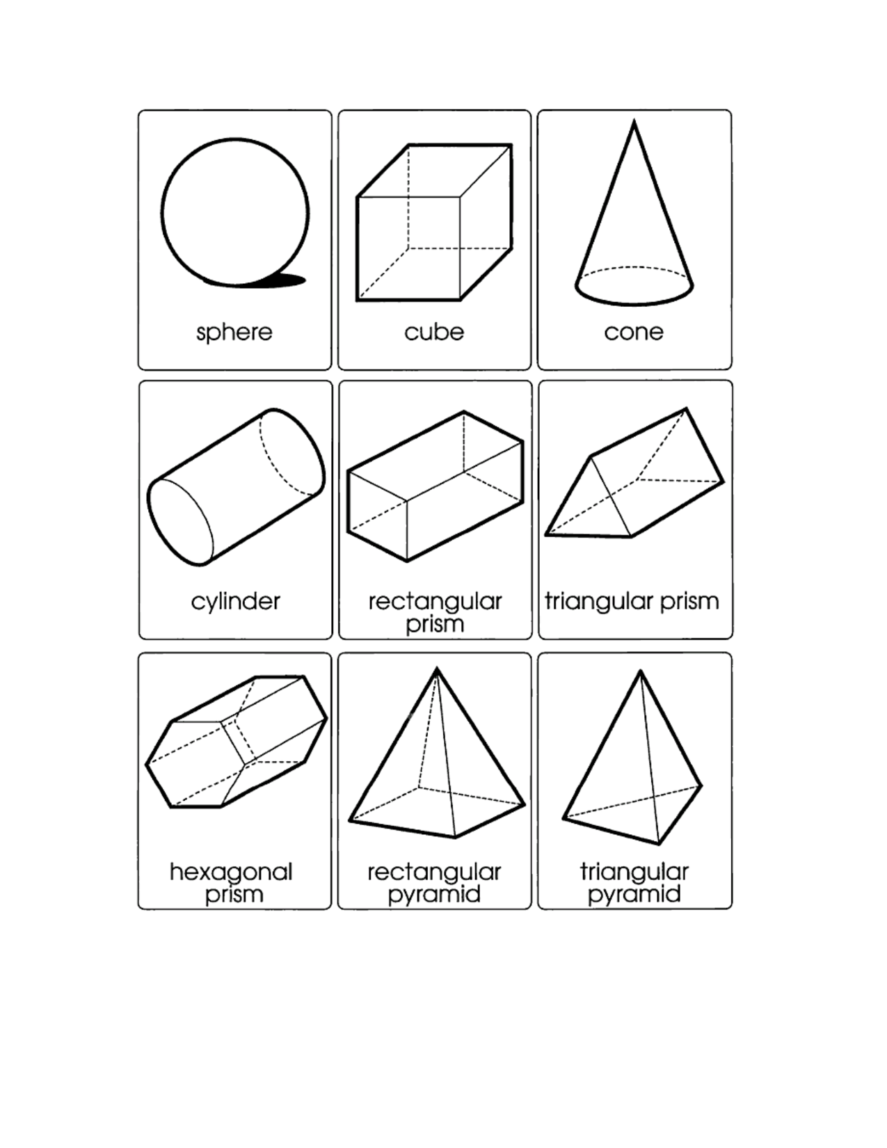 13 Best Images Of Geometric Shapes Worksheets 3rd Grade