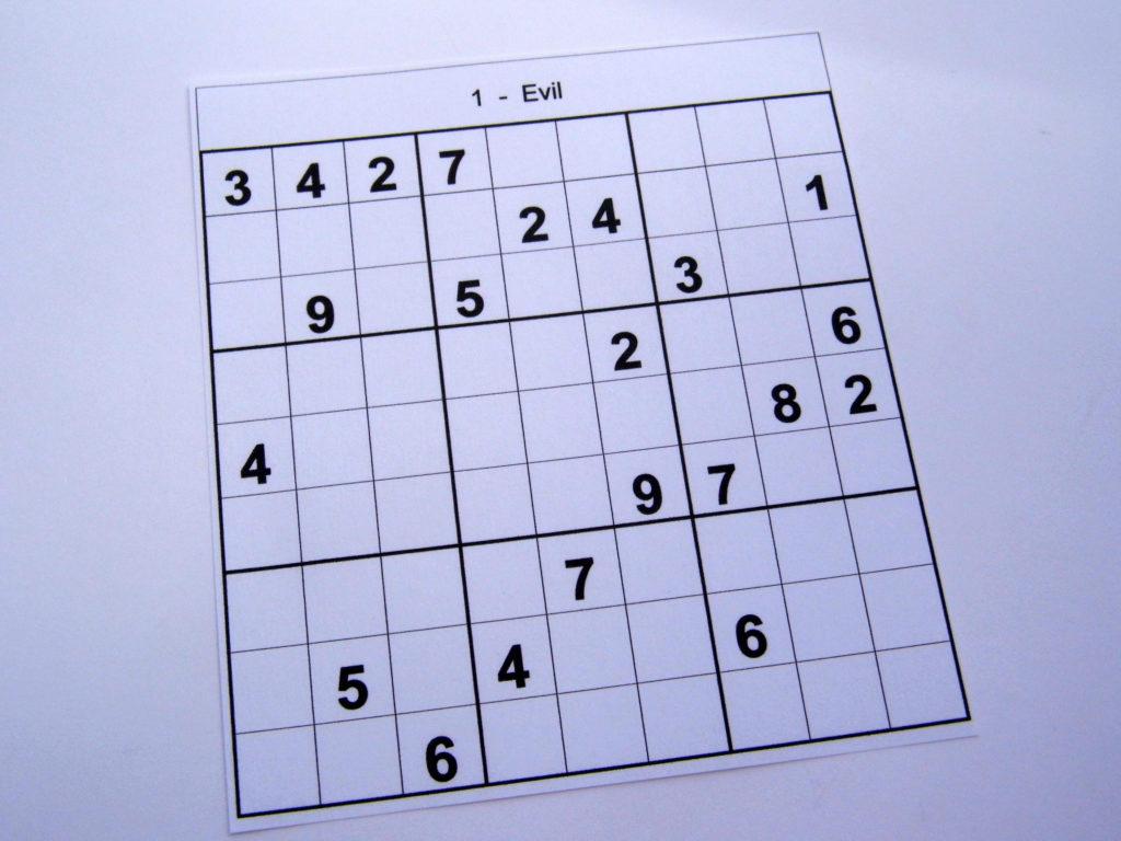 Advanced Sudoku Printable Printable Template Free