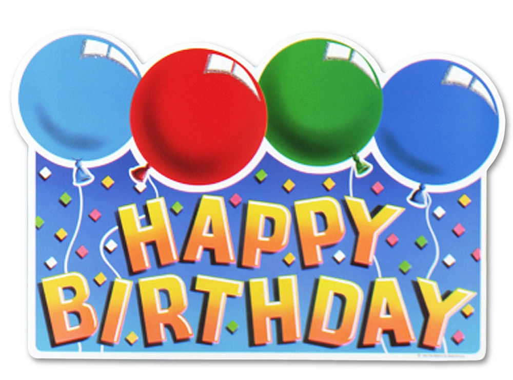 Free Happy Birthday Sign Download Free Clip Art Free