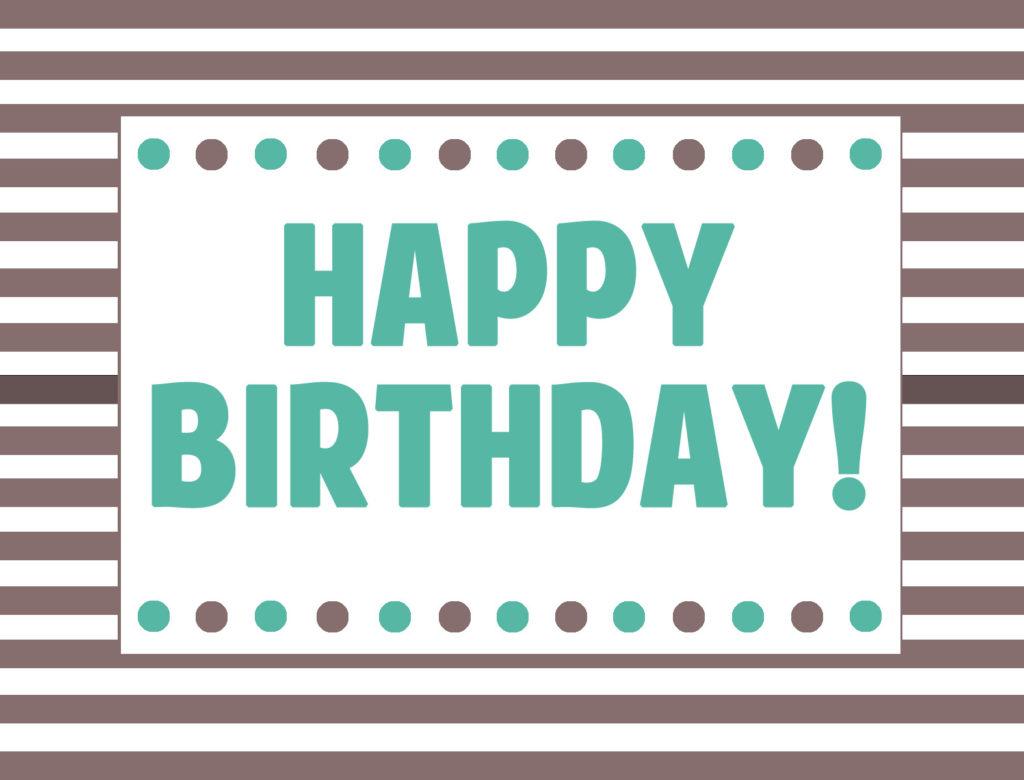 Happy Birthday Sign Cliparts Co