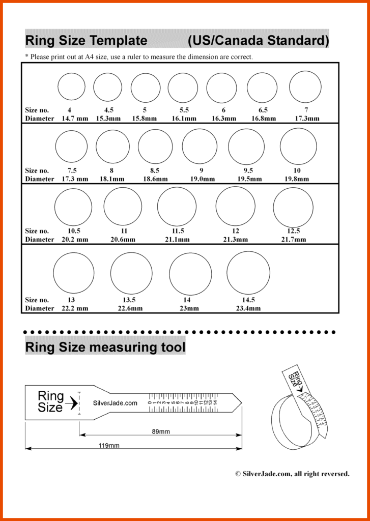 18 Useful Printable Ring Sizers KittyBabyLove