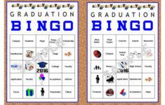 30 Printable Graduation BINGO Cards By