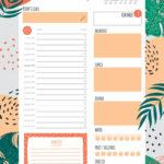 6 Best Free Printable Blank Daily Schedule Printablee