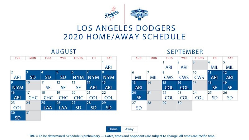 Dodgers Schedule Opening Day 2 Five Outrageous Ideas For
