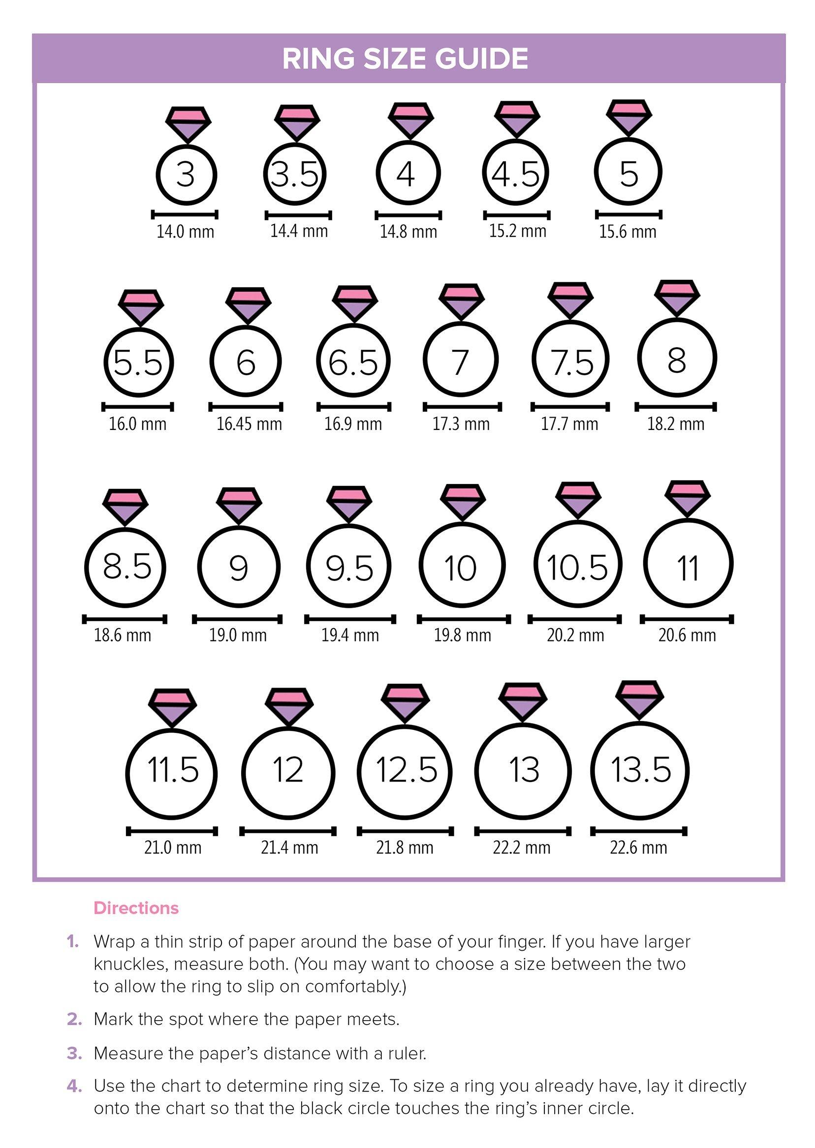 Free Printable Ring Sizer Uk Free Printable