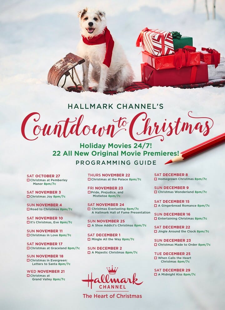Hallmark Christmas Movies 2018 List How To Watch Online