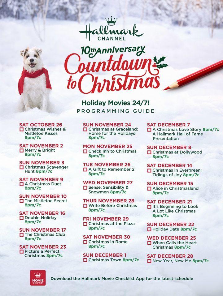 Hallmark Christmas Movies 2020 List Printable Idalias Salon