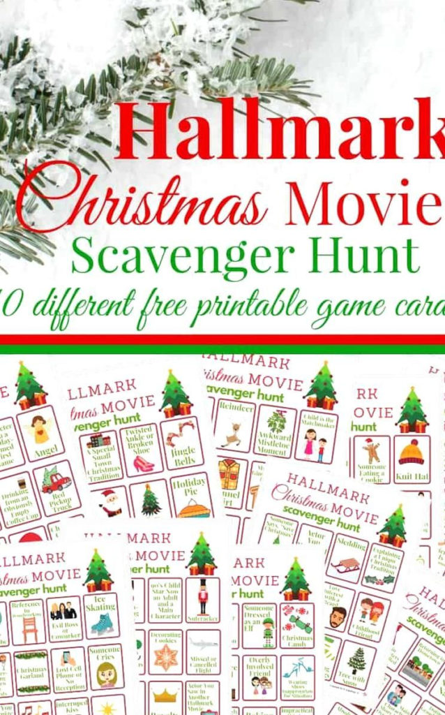 Hallmark Christmas Movies 2020 Printable Schedule