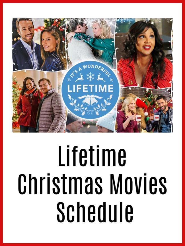 Lifetime Christmas Movies 2018 Line Up Through December