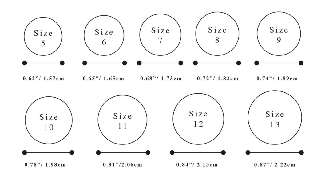 Mens Ring Size Chart Printable That Are Geeky Derrick