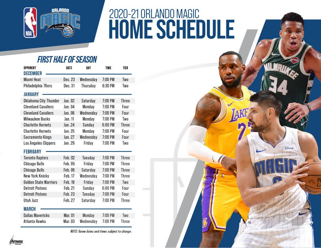 Orlando Magic NBA Home Game Tickets Klook UK