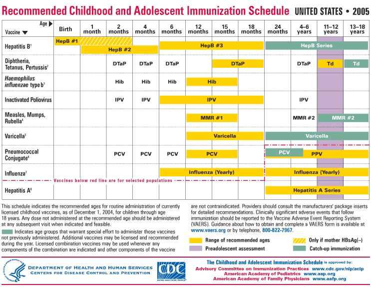 Printable Immunization Schedule Shop Fresh