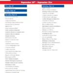 Printable Week 4 College Football Schedule 2021