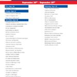 Printable Week 5 College Football Schedule 2020