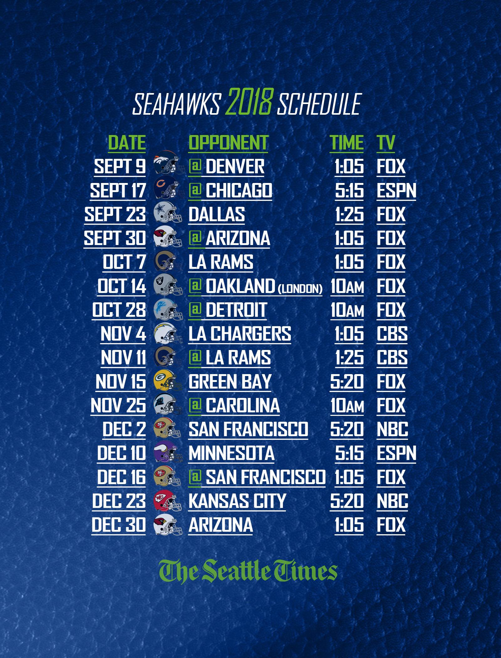 Seahawk Calendar Exam Calendar