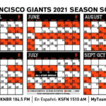 SF Giants 2021 Schedule Released For Some Reason