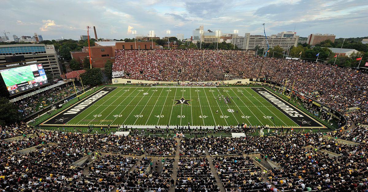 Vanderbilt s 2021 Football Schedule Released Anchor Of Gold